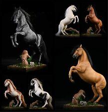 JXK 1/12 German Hannover Horse Statue Battle Steed Collector Animal Model Toys