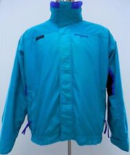 VINTAGE Columbia BUGABOO Jacket MENS Large TEAL Multicolor L Sz DUAL Layer COAT*