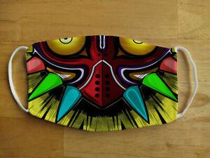 Face Mask Funny Skull kid Zelda Monster Gamer Reusable Protection Face Cover UK