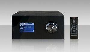 Terris IWR 271 Internetradio mit Bluetooth USB 2.0 DAB/DAB+ Schwarz