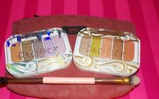 Pacifica Mineral 5 Eyeshadow Palette in Beach Crystals & Tomboy Vibe~Brush~Bag