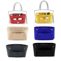 Women's Handbag Organizer Bag Lady MultiPocket Tote Useful Bag Purse Insert Bag