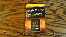 NEW Kindle Fire HD For Dummies® Mini Pocket Edition Booklet Cliff Notes 60 Pages