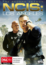 NCIS - Los Angeles : Season 2 (DVD, 2011, 6-Disc Set) FREE POSTAGE