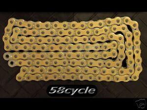 EK 520 SRX X-Ring GOLD 120 Links Chain 600RR ZX6RR R6 Ducati