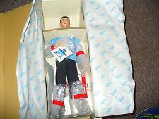 "STAR TREK 14"" Porcelain Doll Mr. Spock New  with COA (1988) HAMILTON COLLECTION"