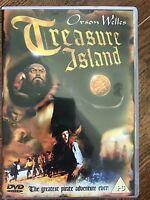 Treasure Isla DVD 1972 Aventura Película Clásica con Orson Welles