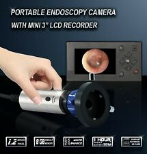 Endoscope Camera HD Rigid Endoscopy Systems ENT Medical Portable Recorder 1.2mp
