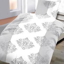 Baumwoll Renforcé Bettwäsche 135x200 cm 2 teilig Ornamente