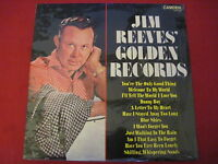 JIM REEVES - GOLDEN RECORDS - CAMDEN CDS 1145 STEREO (UK) SEALED MINT LP COUNTRY