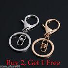 Fashion Men Metal Car Key Chain Ring Creative Keyring Keychain Keyfob DIY Gift