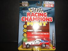 Racing Champions Plymouth Cuda Funny Car 1973 Army Don Prudhomme RCSP004 1/64