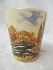 Vintage Royal Doulton Cup Tumbler Woodley Dale D5195H 1st in set rare form