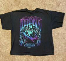 Authentic T-Shirt JIMI HENDRIX 2009 Winterland '68 San Francisco Ca Concert 2X