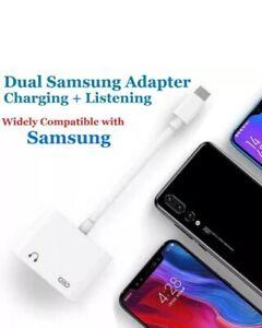 Samsung S9  S8+ S10 S20 FE S21 A12 A72 USB Type C to 3.5mm AUX Headphone Adapter