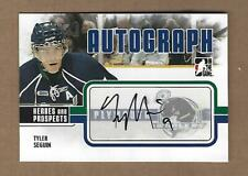 2010   TEH GAME TYLER  SEGUIN  AUTOGRAPHED  A-TS