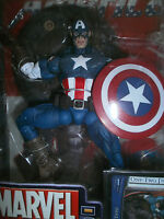 MARVEL LEGENDS SERIES 8 ULTIMATE CAPTAIN AMERICAN FIGURE WITH 32 PAGE COMIC BOOK