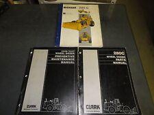 Clark Michigan Company 260B 280C Wheel Dozer    Lot of 3 Manuals