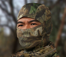 Camouflage Balaclava Face Mask Ski Hunting Airsoft Motorcycle REAL WOODLAND CAMO