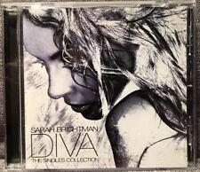 SARAH BRIGHTMAN Diva THE SINGLES COLLECTION CD 2006 Australia *Disc Mint*
