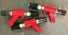 NEW 3 Pc. Set ACK ACK PING PONG BALL TOY GUNS Never Used