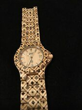 Wewood Wooden Watch Unworn New Battery Men/women