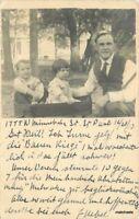 1910 St Paul Minnesota Children in Pull Wagon RPPC Real photo postcard 831