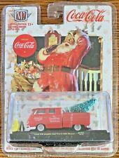 M2 Machines 2018 Coca-Cola Christmas '59 VW Cab Truck #SC02 1:64 Scale Diecast