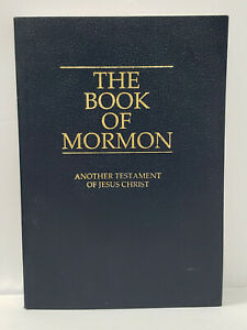 The Book of Mormon Another Testament of Jesus Christ - 1i