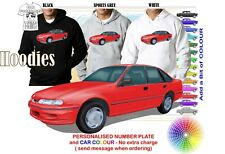 95-97 VS COMMODORE SEDAN HOODIE ILLUSTRATED CLASSIC RETRO MUSCLE SPORTS CAR