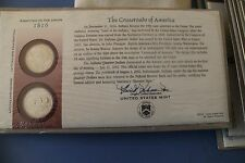 US MINT OFFICIAL 2002 INDIANA FIRST DAY COVER NEW IN PACKAGE