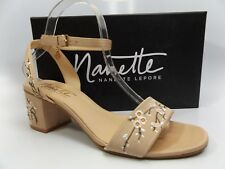 Nanette Lepore Ruby Ankle Strap Sandals Women's SZ 8.0 M - Blush PRE OWNED D6297