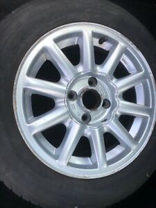 AUDI 80 Speedline alloy wheels (4) with nearly-new Avon 205/60 15 tyres.