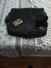 New! Calvin Klein Black Messenger Bag Laptop