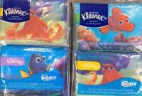 Kleenex Tissues Disney Finding Dory Hank Nemo Dory 4 Packs New Collectible