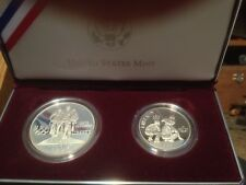 1995 SILVER PROOF SET U.S. OLYMPIC COINS OF THE ATLANTA CENTENNIAL OLYMPIC GAMES