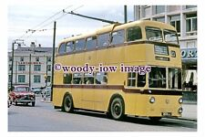 gw0133 - Bournemouth Trolleybus 303 LJ in 1967 - photograph