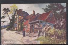Kent Postcard - The Butcher's Shop, Penshurst    RS7273