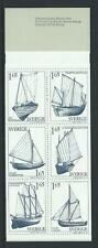 1981 SWEDEN Sailing Boats Booklet (contains Scott 1365a) MNH