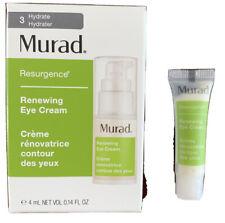 Murad Renewing Eye Cream 0.14 Oz - Nib - Mini Sample Size 4ml
