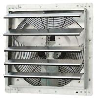 1750 cfm power 18 in. variable speed shutter exhaust fan | iliving inch steel