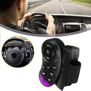 New Car Steering Wheel Button Remote Control Angle 35° Bluetooth For DVD MP3 GPS
