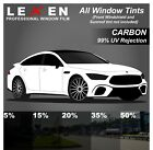 All Windows Precut 2ply Premium Carbon Film Kit Computer Cut Car Glass Tint