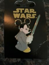Disney Pin Star Wars Mickey Mouse as Jedi Mickey - Lucasfilm