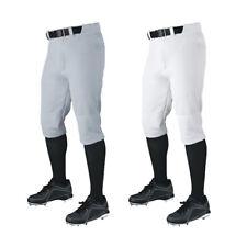 DeMarini Veteran Youth Boy's Baseball Pant D2078 - White & Grey