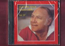 CLAUDIO VILLA - CANZONI CELEBRI VOL.4 CD NUOVO SIGILLATO