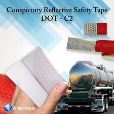 "Reflective Conspicuity Tape Safety DOT-C2 - 5 Feet roll x 2"" wide :)"