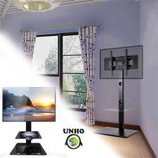 "32-65""Floor TV Stand Tilt Mount Bracket with Component Shelf for Hisense Sony LG"