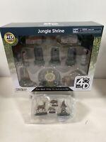 WizKids 4D Settings: Jungle Shrine - Brand New & Sealed With Animals Bundle