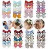 6pcs Kids Baby Girls Children Toddler Flowers Hair Clip Bow Accessories Hairpin